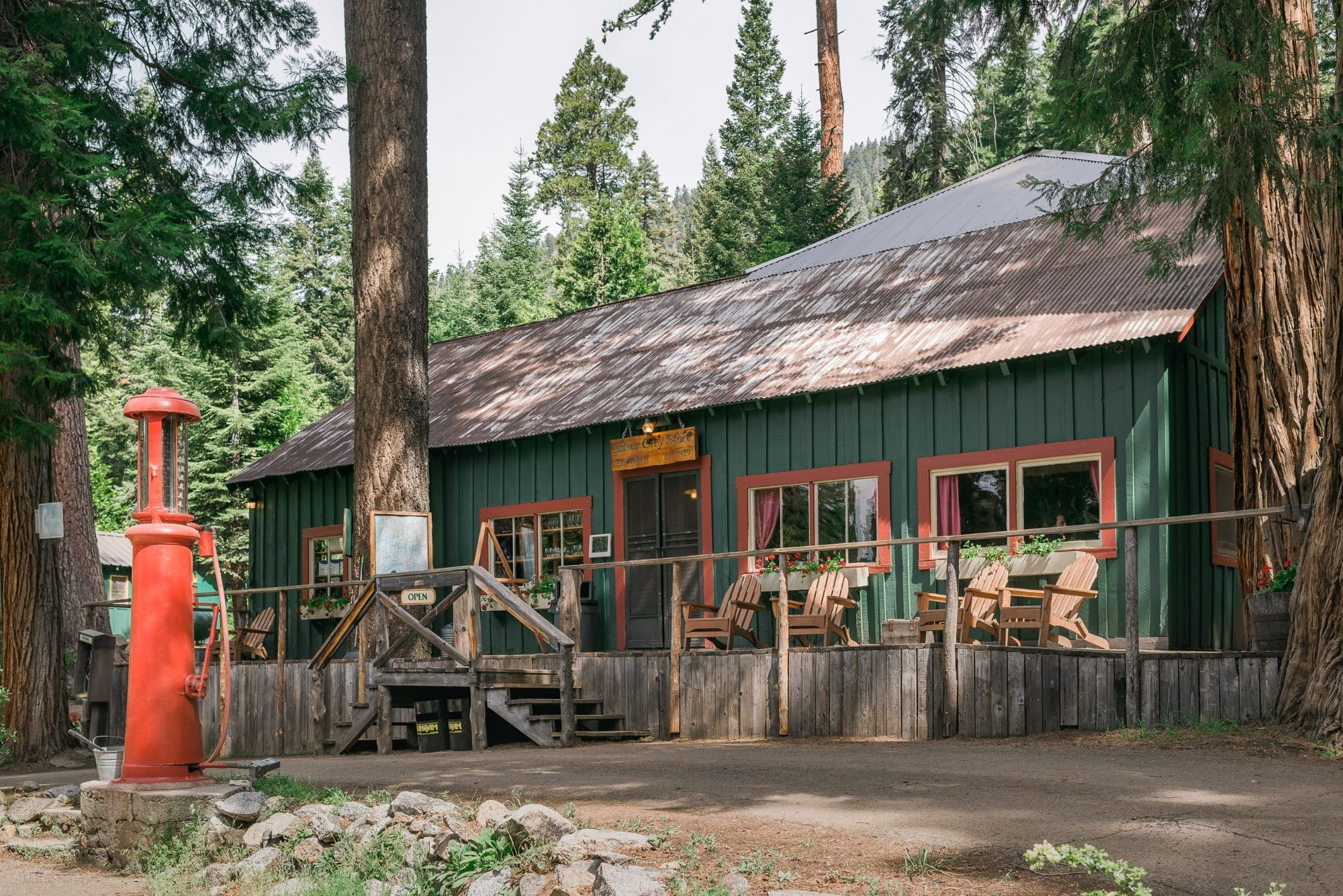 photo national recarea guard trees quaking aspen within cabins style log of park forest sequoia in cabin station
